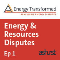 Energy Resources Disputes 1