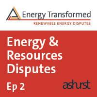 Energy Resources Disputes 2